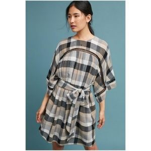 NWT Maeve plaid dress from Anthro with pockets!